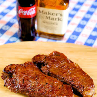 Bourbon & Coke Steaks.