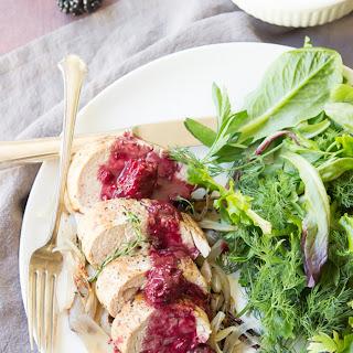 Blackberry Sage Pork Tenderloin Recipe