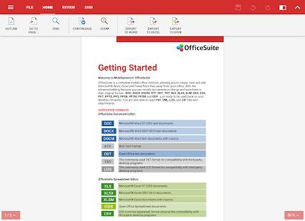 OfficeSuite + PDF Editor Screenshot 20