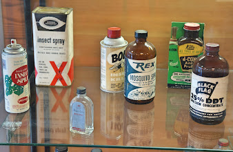 Photo: Some vintage hazardous substances.