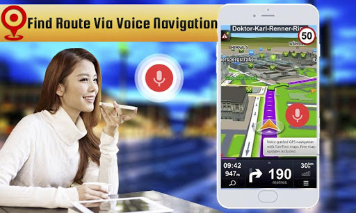 Voice GPS Driving: GPS Navigation Direction 1.4 screenshots 1
