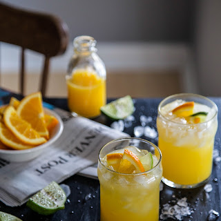 Morning Mule Cocktail.