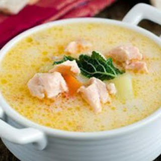 Fish Soup With Cheese