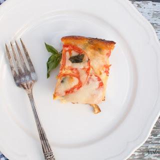 Tomato Basil Mozzarella Egg Bake Recipes