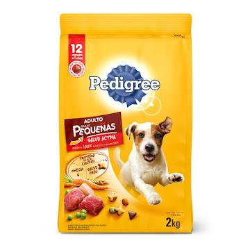 Alimento Para Perro   Pedigree Adulto Razas Pequeñas 12Meses-7Años x 2Kg