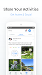 screenshot of Pedometer, Step Counter & Weight Loss Tracker App