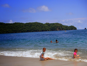 Photo: Enjoying Playa Conchal