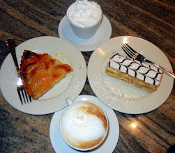 Photo: Our desserts in the Little Italy district in San Diego