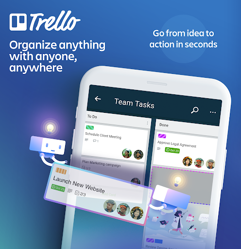 Trello — Organize anything with anyone, anywhere! 5.8.0.12314-production screenshots 1