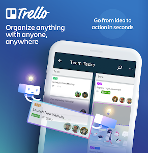 Trello — Organize anything with anyone, anywhere! 5.10.0.12431-candidate-BETA