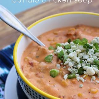 Creamy Buffalo Chicken Soup.