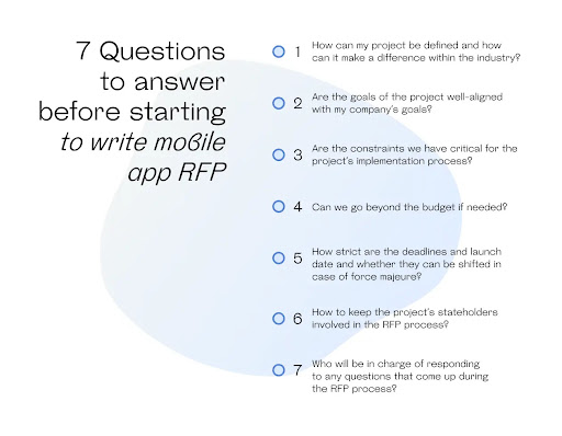 Mobile Application Development RFP: How to make a mobile app?