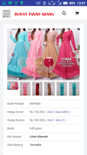 Bursa Tanah Abang Online Shop- screenshot thumbnail