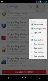 System app remover (root needed) - Apps on Google Play