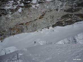 Photo: Crevassed Summit Plateau and Headwall