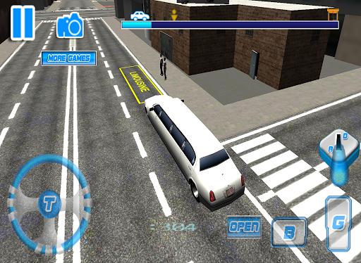 玩免費模擬APP|下載3D實景豪華轎車公園模擬器 app不用錢|硬是要APP