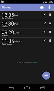 Simple Alarm Clock Free Screenshot 1