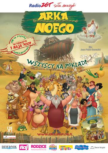 Polski plakat filmu 'Arka Noego'