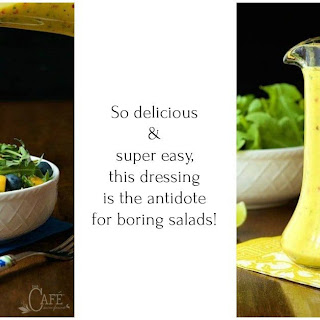 Sweet and Spicy Mango Salad Dressing.