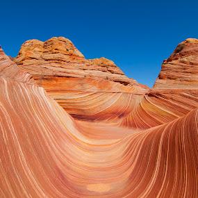The mesmerizing Waves,Arizona by Mili Shrivastava - Landscapes Caves & Formations ( fragile landscape, waves, arizona, stunning landscape, sandstone, the waves,  )