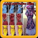 Ankara Fashion Style Design icon