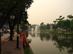 Photo: The moat around the old city
