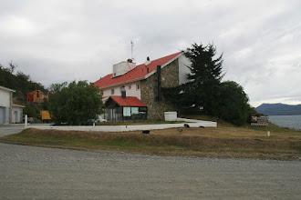 Photo: Unser Standplatz, die Hosteria Kaiken