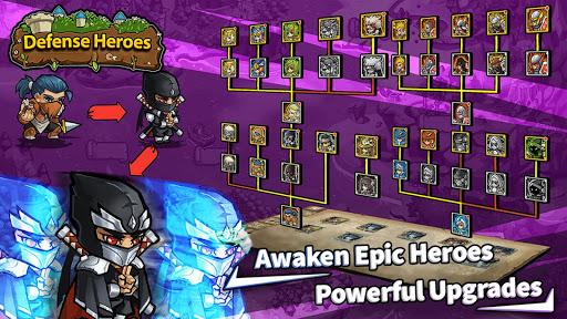 Defense Heroes: Defender War Offline Tower Defense android2mod screenshots 7