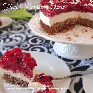 Heidi's Raspberry Torte