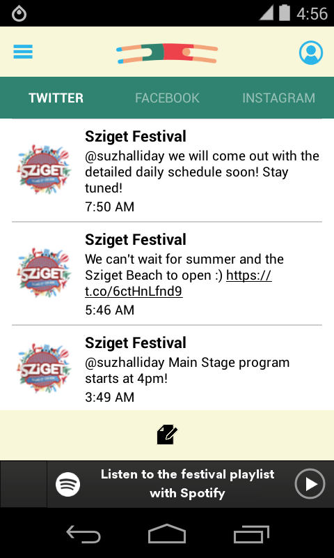 Sziget Festival- screenshot