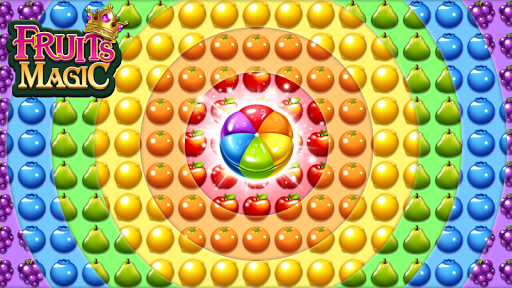 Fruits Magic Sweet Garden: Match 3 Puzzle ss1