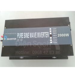 Kích điện Sin chuẩn 48V 2000W Powertech