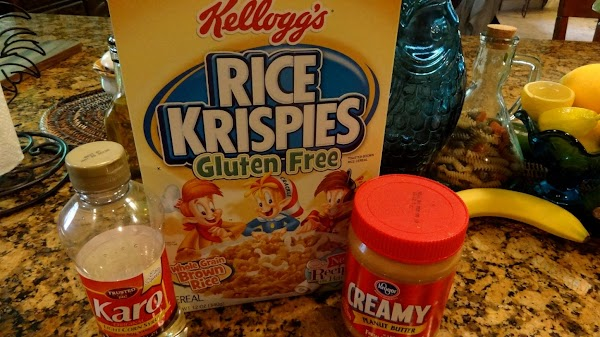 MAKE THE CRUST FIRST  You will need Rice Krispie Cereal, peanut butter  (crunchy or...