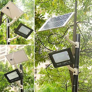 Proiector LED SMD, Panou Solar si telecomanda cu functii multiple