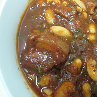 Pork Belly and Bean Stew