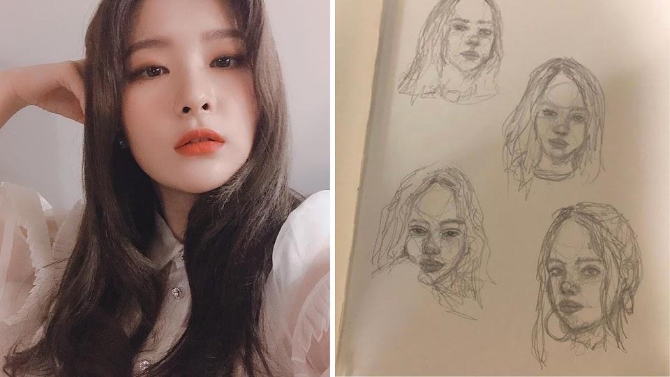 K-Pop Idols And Art (2)
