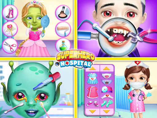 Superhero Hospital Doctor - Crazy Kids Care Clinic 3.0.4 screenshots 12