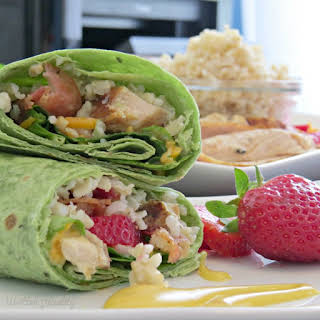 Honey Mustard Chicken Wraps.