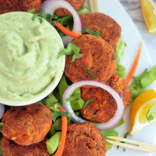 Tandoori Tuna Patties (Gluten-free & Dairy -free).