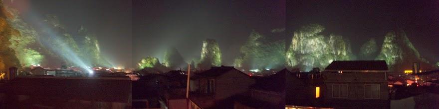 Photo: Yangshuo at Night