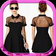 Sexy Black dress icon