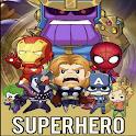 Super Hero War İo icon