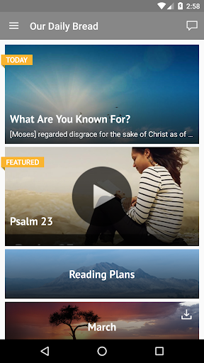 Our Daily Bread 3.2.3 screenshots 1