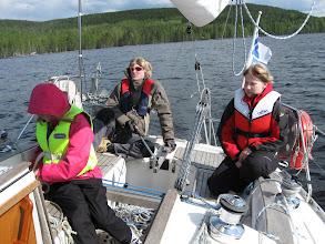 Photo: Nuorempaa purjehtijaa kevään kurssilla.