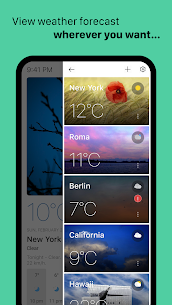 Today Weather Mod Apk (Premium Features Unlocked) 3