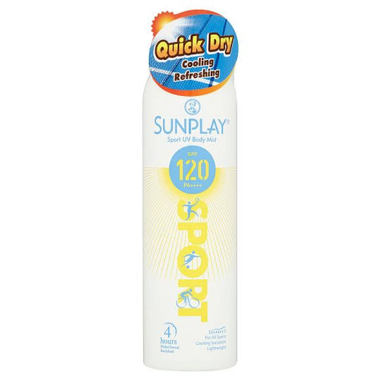 The Sunplay Sport UV body mist offers a great smelling fragrance, and protection from the sun's harmful UV rays. What is Body Mist - Shop Journey