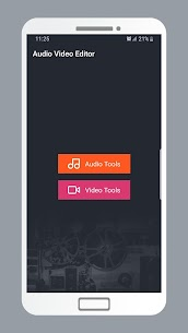Audio Video Editor and Mixer 1
