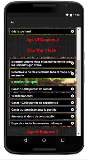 Download Trucos Cheats Age of Empires Google Play softwares