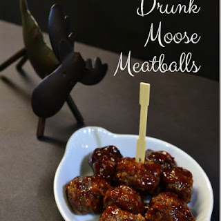 Drunk Moose Meatballs