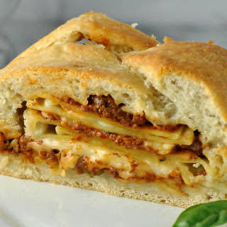 Lasagna Bread [Vegan].